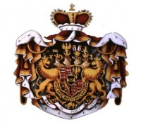 The crest of the imperial Prince of Colloredo-Mansfeld