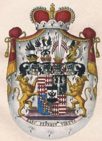 Coat of arms of the imperial Prince C-M